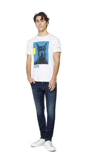 REGULAR FIT T-SHIRT WITH PRINT