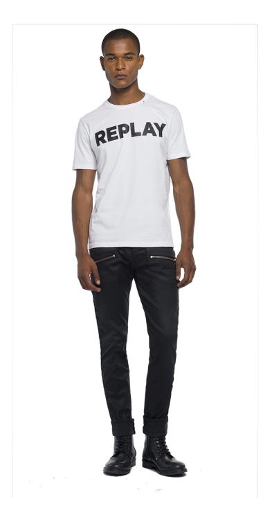 image of Cotton t-shirt printed logo