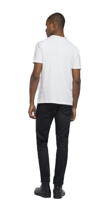 Cotton t-shirt printed logo
