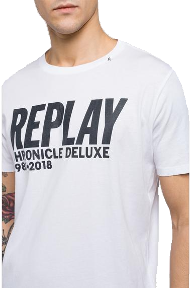 REPLAY CHRONICLE DELUXE T-SHIRT