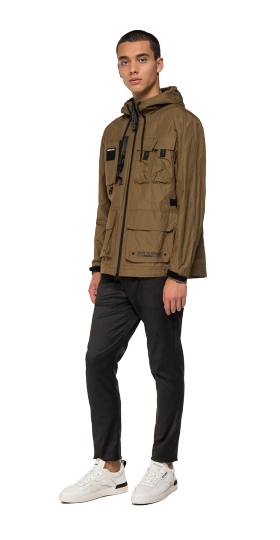 Replay multi-pocket jacket