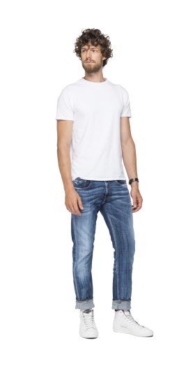 SLIM FIT AGED 5 YEARS SUSTAINABLE CYCLE ANBASS JEANS