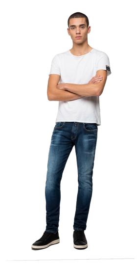 Slim fit Hyperflex Bio Anbass jeans