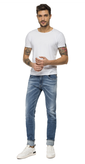 AGED 5 YEARS SKINNY FIT JONDRILL JEANS