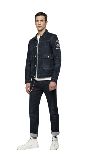 REPLAY PSG RAW DENIM JACKET