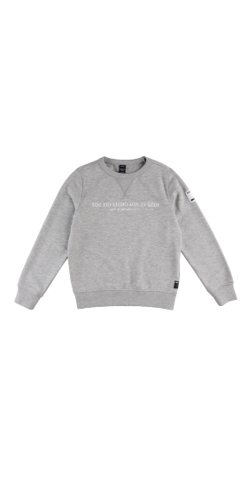 CREWNECK MÉLANGE REPLAY SWEATSHIRT