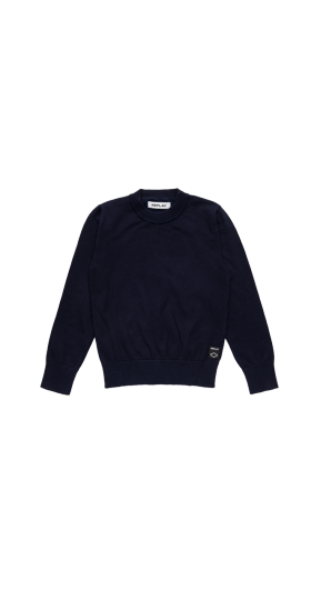 HYPERFLEX COTTON CREWNECK SWEATER
