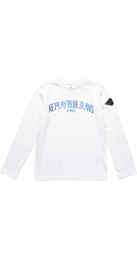 REPLAY BLUE JEANS CREWNECK T-SHIRT