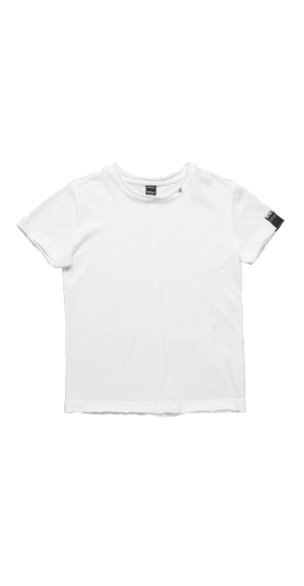 CREWNECK T-SHIRT WITH RAW CUT