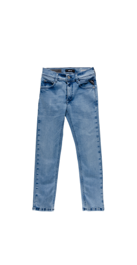 SLIM FIT STRETCH HYPERFLEX CLOUDS JEANS