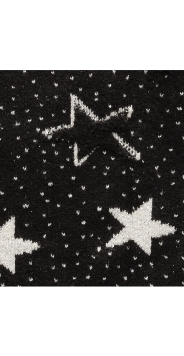 REPLAY MAXI SWEATER WITH STARS