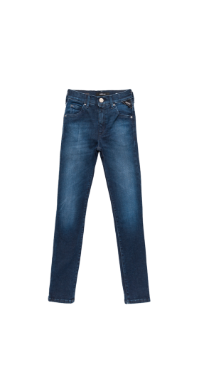 SKINNY HIGH WAIST FIT NELLIE HYPERFLEX CLOUDS JEANS
