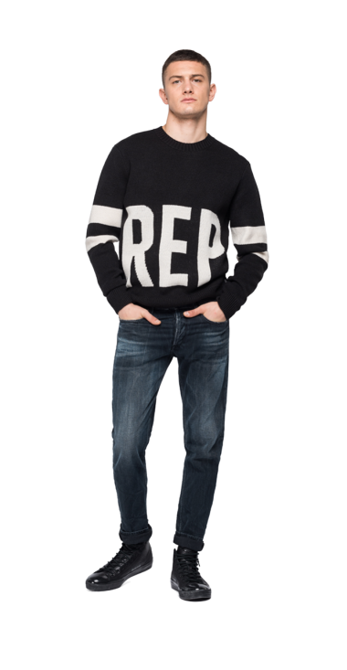 OVERSIZED REPLAY PULLOVER