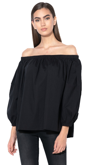 REPLAY OFF-THE-SHOULDER TOP