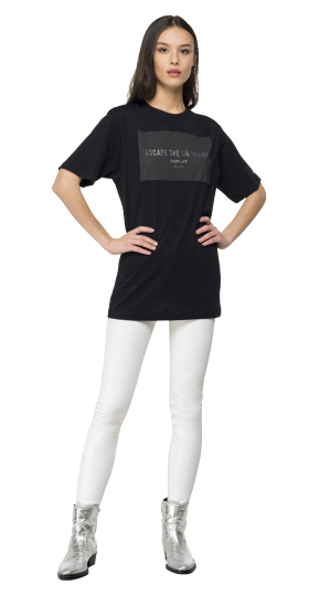 Maxi t-shirt with REPLAY writing