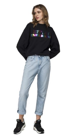 Reflective REPLAY sweatshirt
