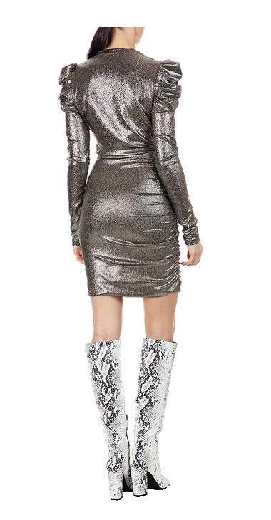 REPLAY WOMENS DRESS GOLD