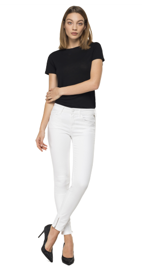Skinny fit New Luz Ankle Zip jeans