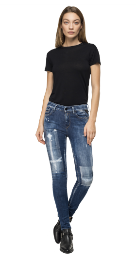 SKINNY HIGH WAIST FIT NEW LUZ MAESTRO JEANS