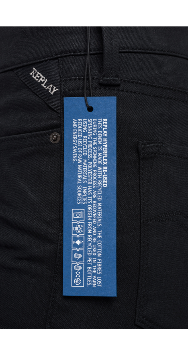 SKINNY FIT HYPERFLEX RE-USED NEW LUZ JEANS