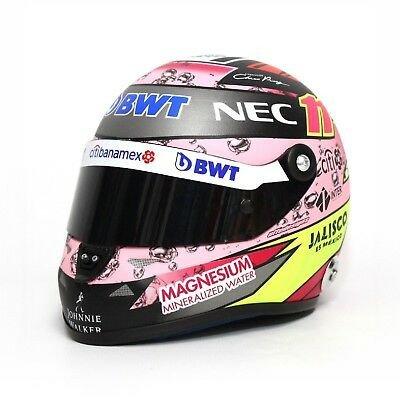 Mini Helmet Sergio Pérez 2017