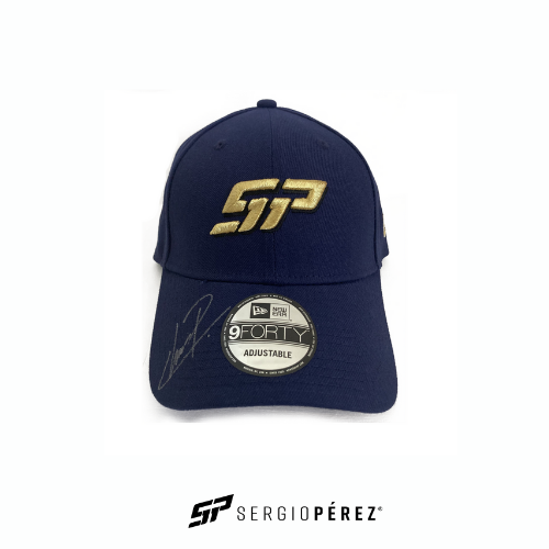 Sergio Perez Collection by New Era; SP Podium History Edition Signed by Checo