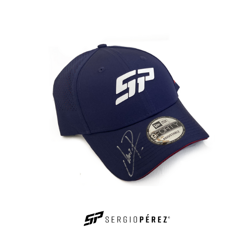 Sergio Perez Collection by New Era; Mexico GP Edition Signed by Checo