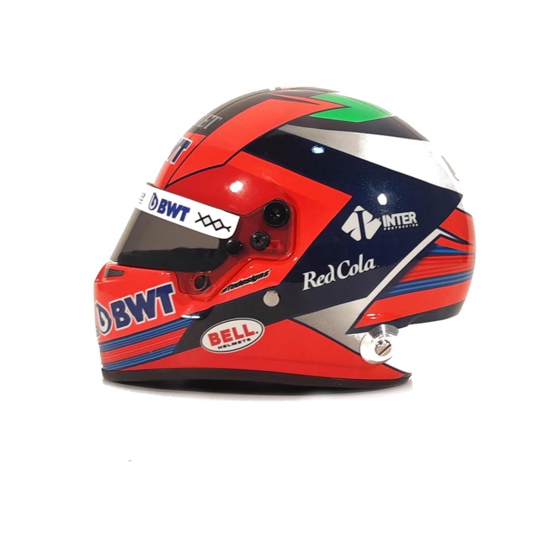 Mini Helmet 2020 Autografiado por Checo en Preventa con Envío Incluido (Entregas a partir del 6 de noviembre)