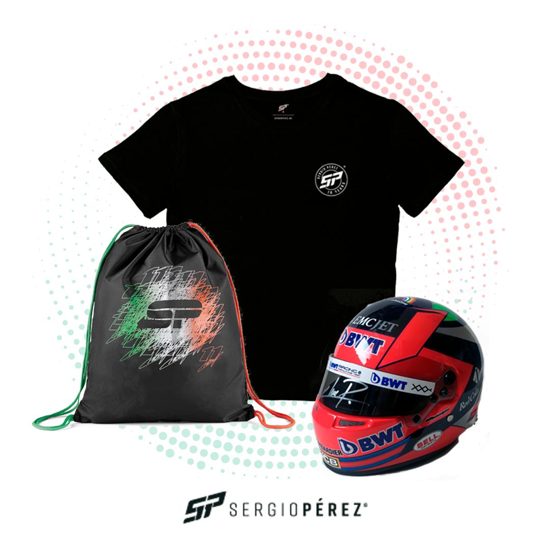 Kit Mini Helmet 2020, T-shirt 10 years & Gym Bag