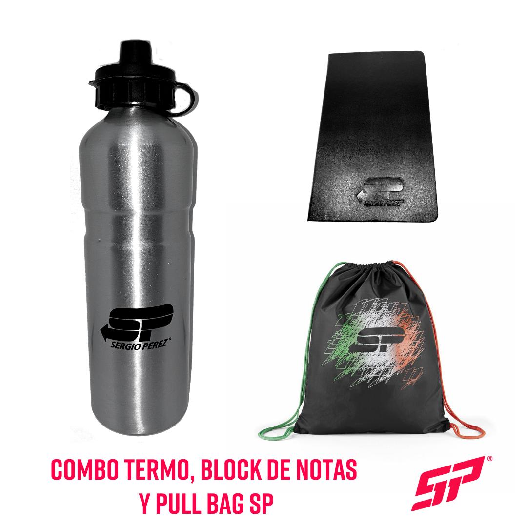 Combo Termo, Block de Notas y Pull Bag SP