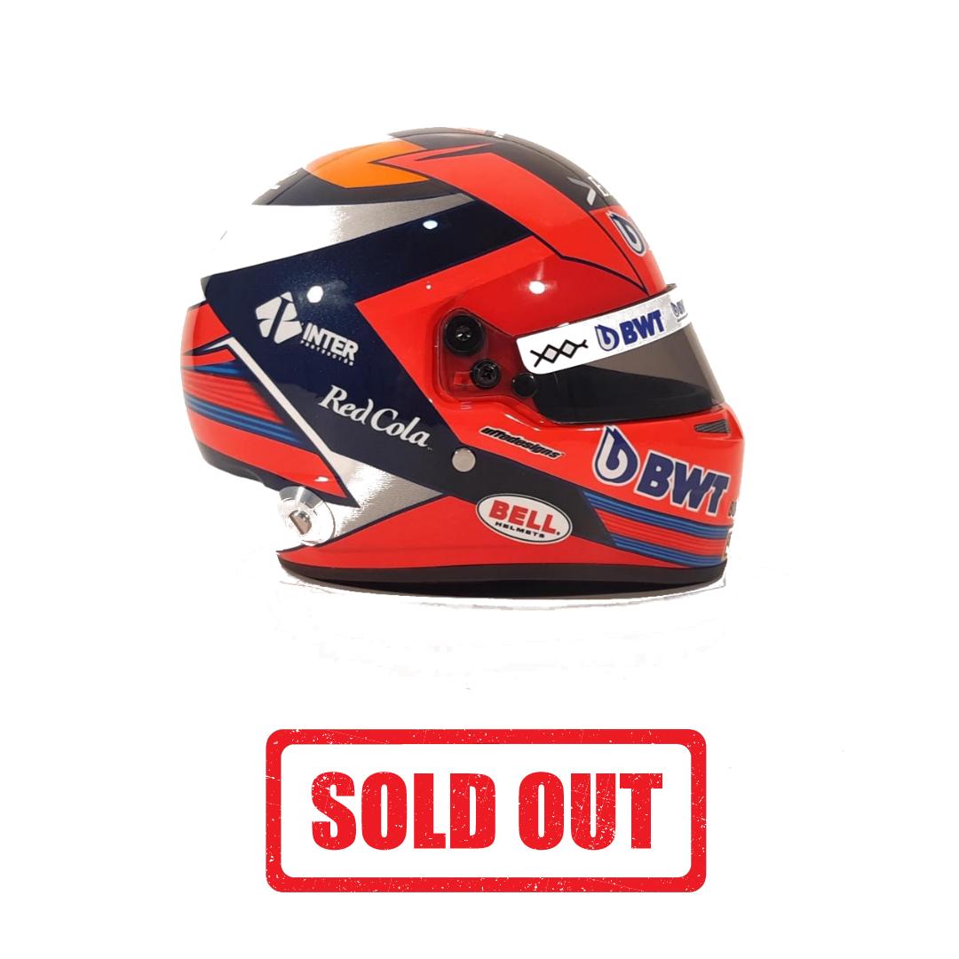 Mini Helmet 2020 Autografiado por Checo (AGOTADO)