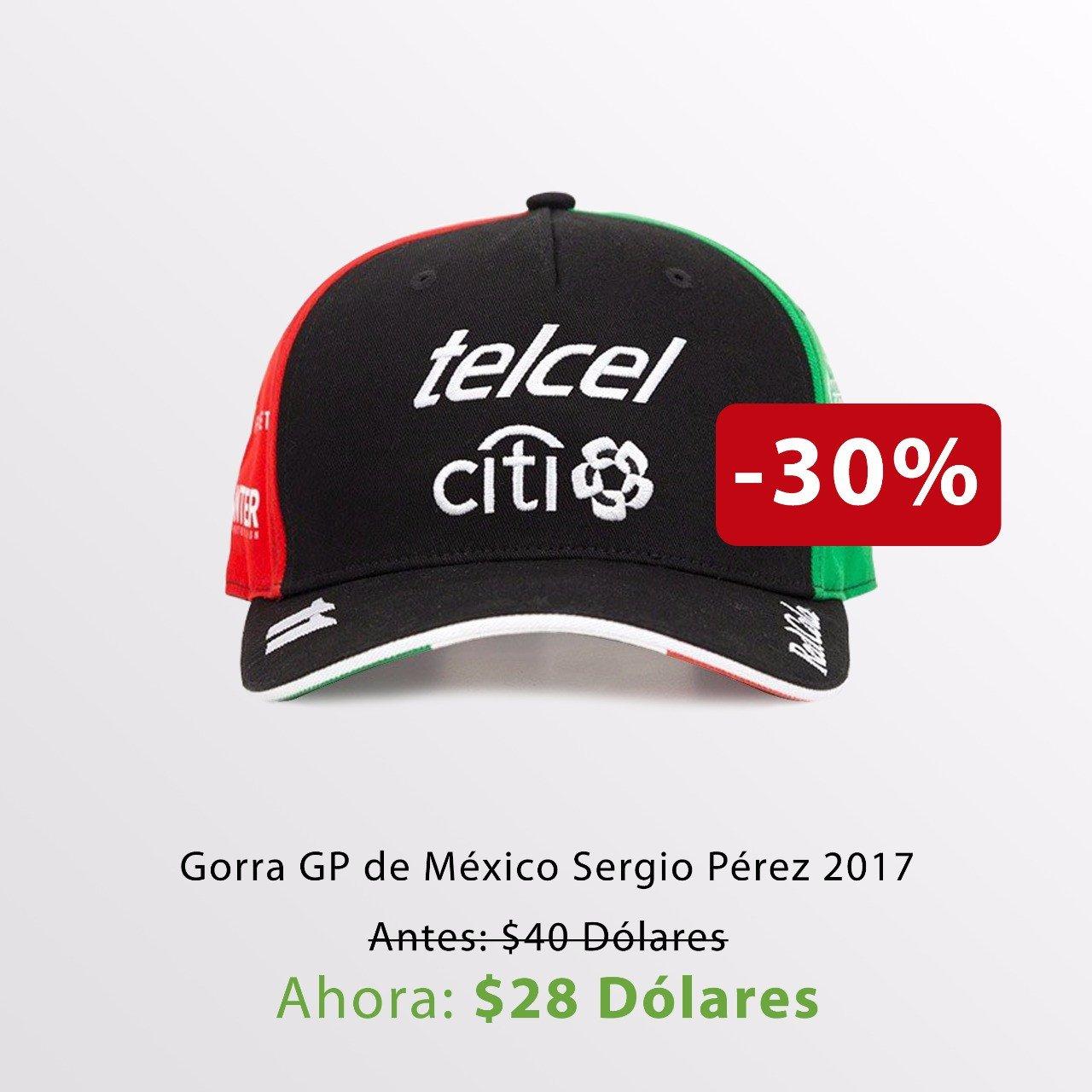 Gorra Checo Pérez Gran Premio de México 2017 / 2017 Checo Perez Mexican Grand Prix Cap