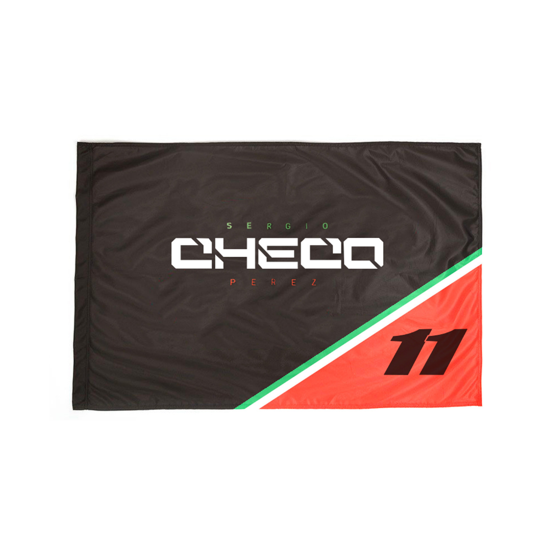 Bandera Checo Pérez 2018 / Checo Pérez Flag 2018