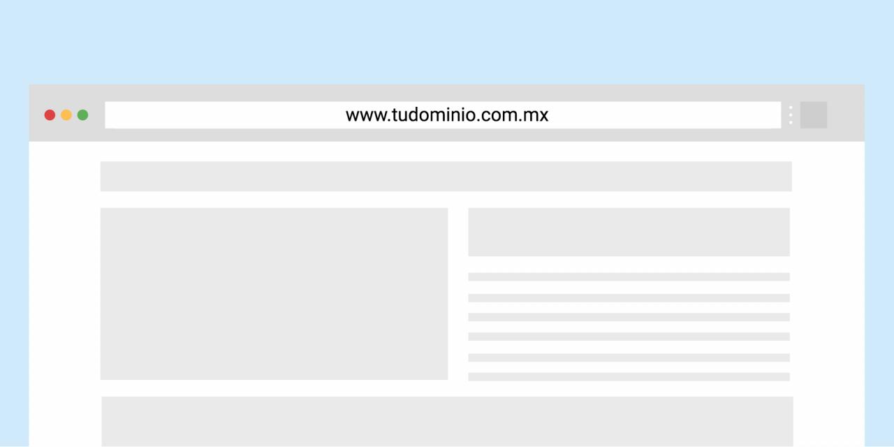 Dominio .com.mx