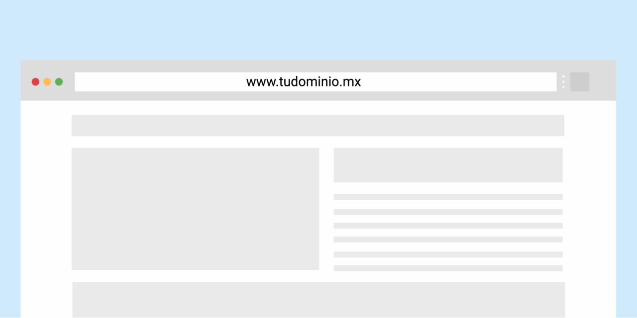 Dominio .mx