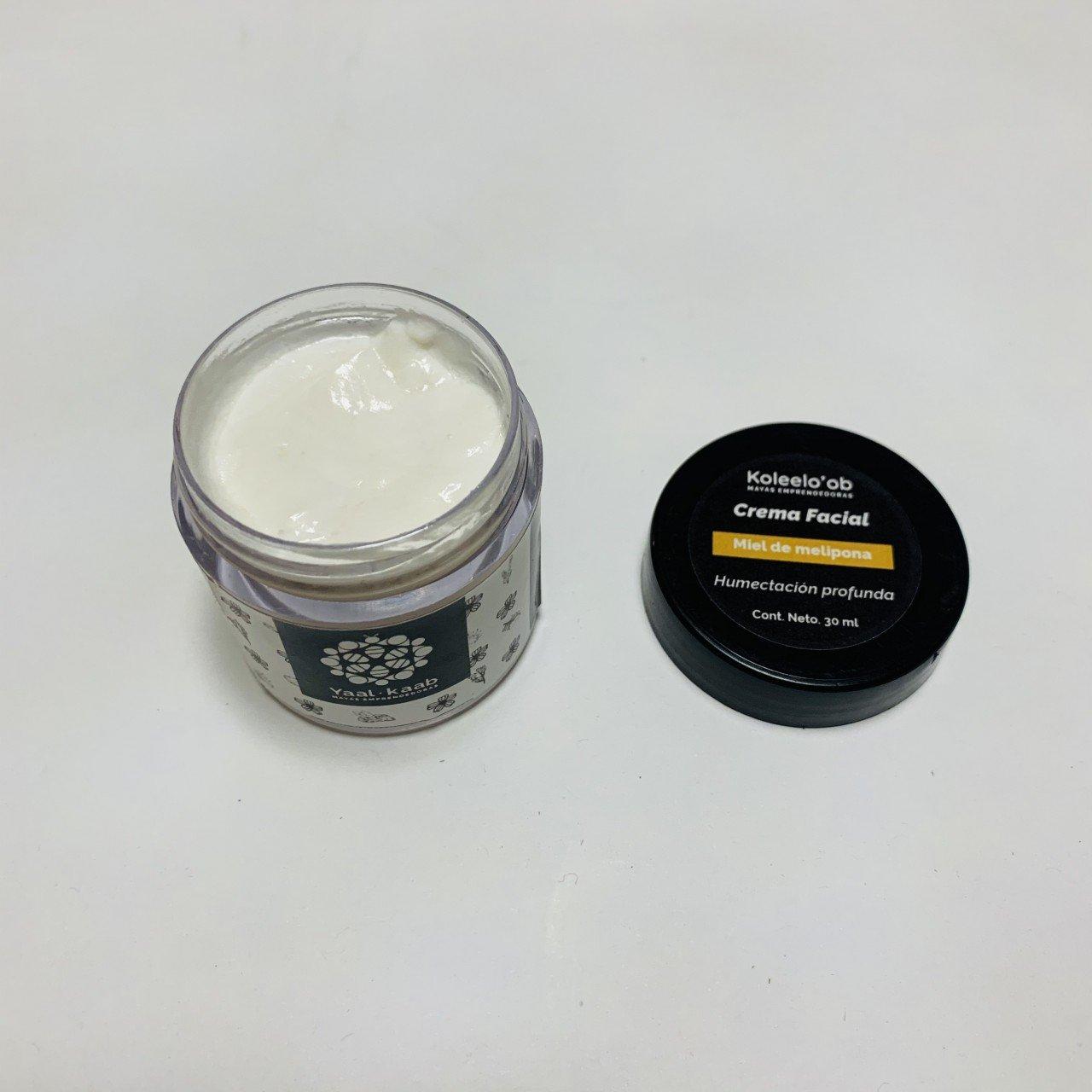 Crema facial miel melipona 30 gr