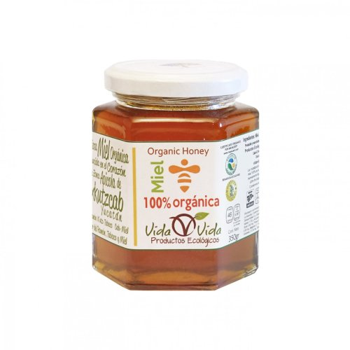 Miel de abeja orgánica 350 gr