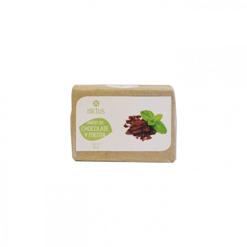 Jabón Artesanal Chocolate y Menta
