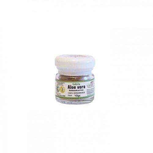 Aloe Vera molido orgánico 10 gr