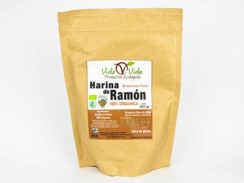 Harina de Ramón orgánica 500 gr