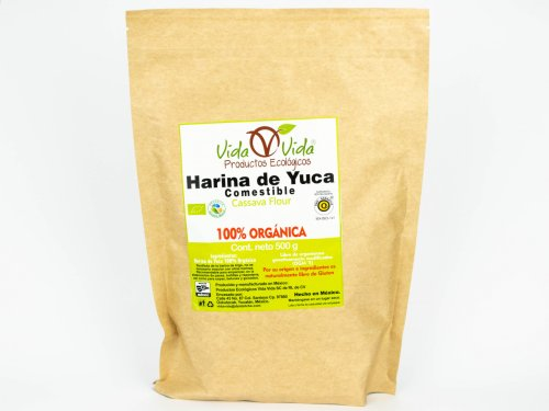 Harina de Yuca orgánica 500 gr