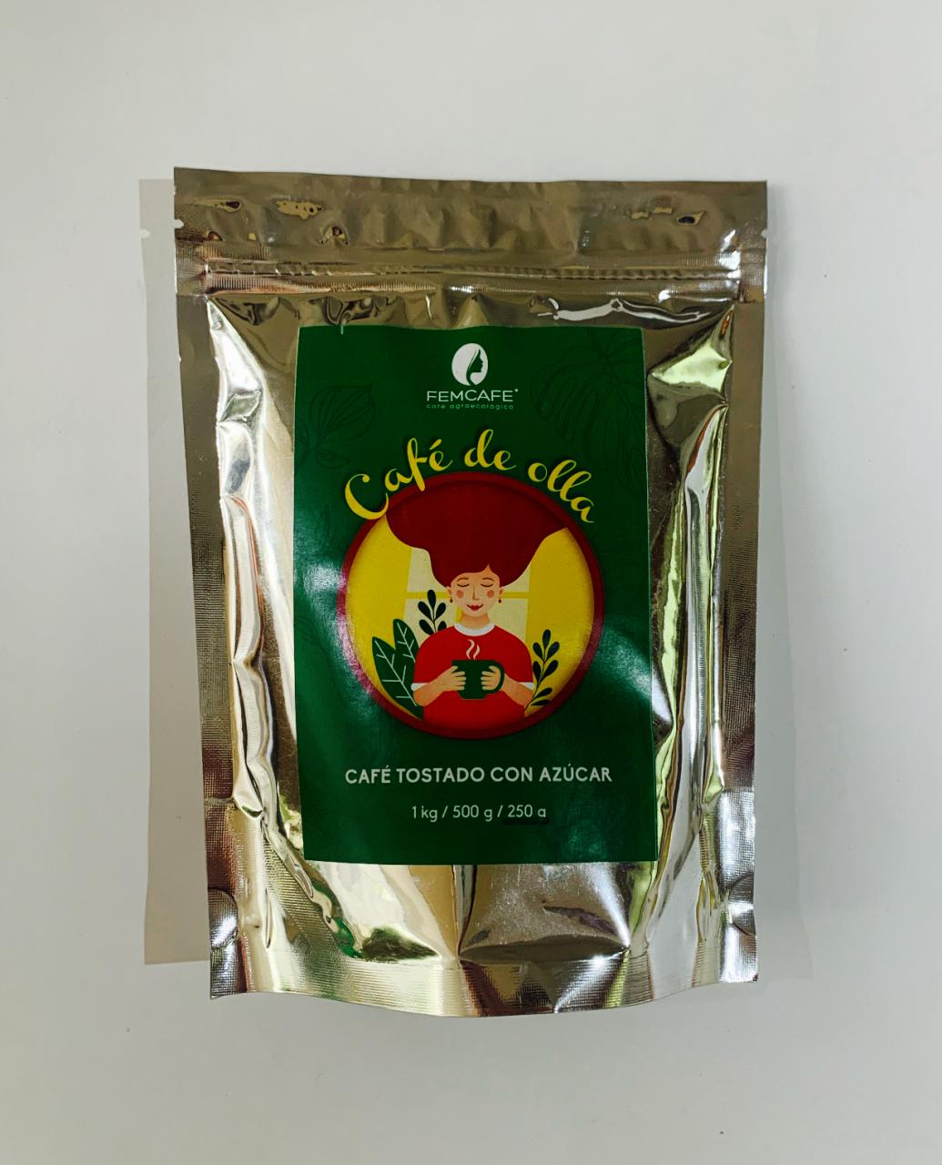 Café de olla con azúcar - Femcafé: Molido medio