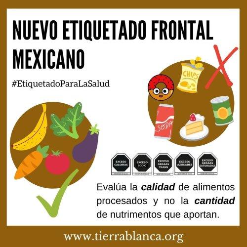 NUEVO ETIQUETADO DE ADVERTENCIA MEXICANO (2020)