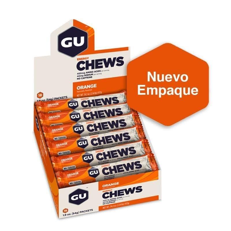 Gomitas Energéticas Gu Energy Chews