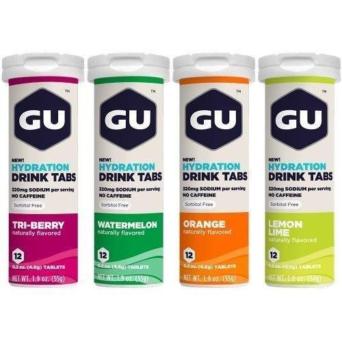 Tabletas de Electrolitos GU Energy