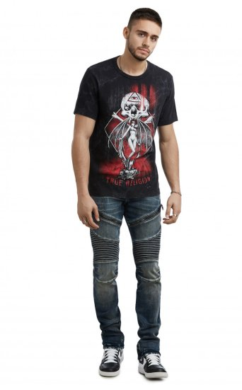 SS WASHED GOTHIC TEE