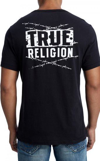 SS TRUE BARBED WIRE TEE