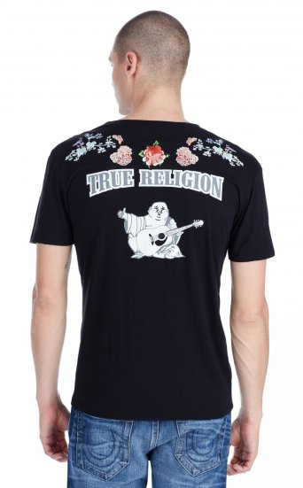 SS WASHED FLORAL TEE