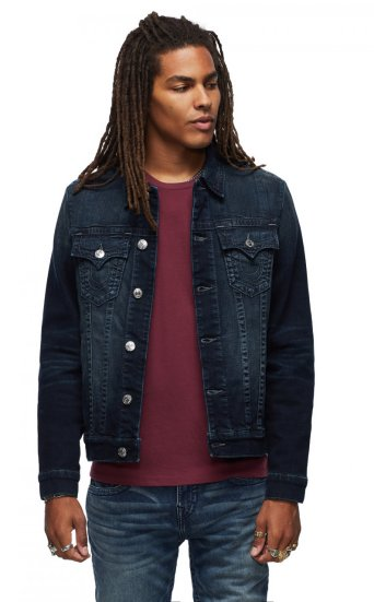 TONAL TRUCKER JACKET