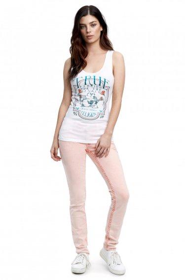 image of SKINNY WHITE BIG T
